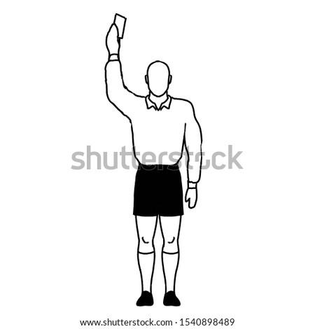 rögbi · döntőbíró · büntetés · rúgás · kéz · jel - stock fotó © patrimonio