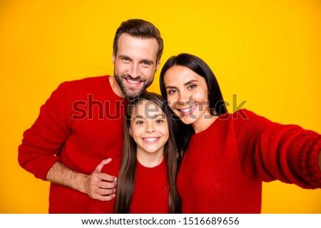 Familie foto christmas moeder dochter klein Stockfoto © ElenaBatkova