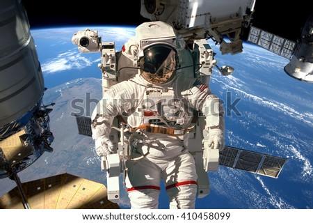 国際 スペース 駅 宇宙飛行士 宇宙 地球 ストックフォト © NASA_images