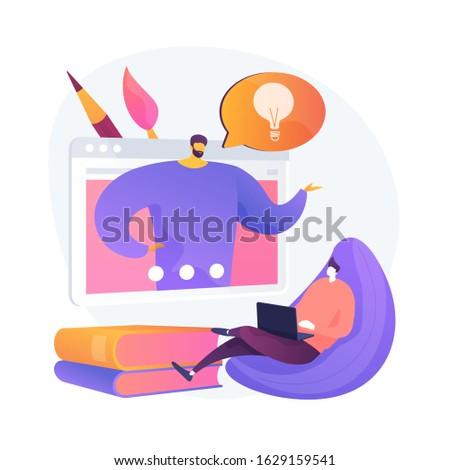 Infographie conseils regarder vecteur métaphore numérique Photo stock © RAStudio