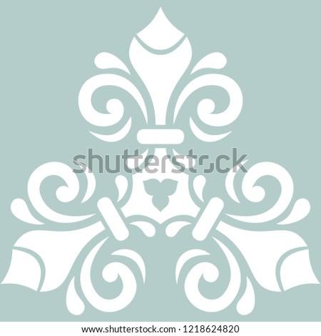 Stok fotoğraf: Soyut · dekoratif · çerçeve · yalıtılmış · vektör
