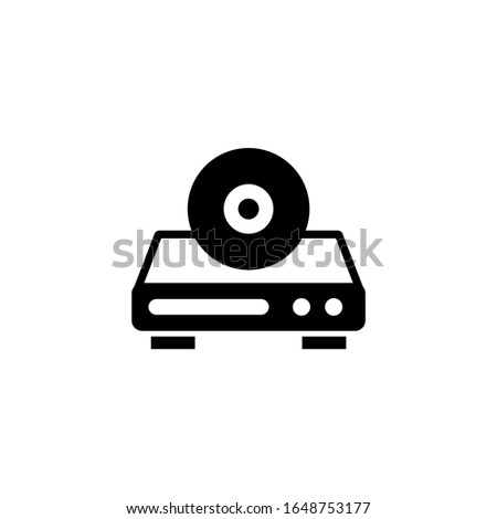 Opening dvd recorder with disc Stock photo © ssuaphoto
