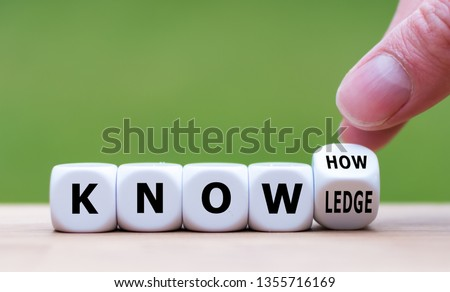 education and learn concept words knowledge is power on digital screen 3d stock photo © fotoscool