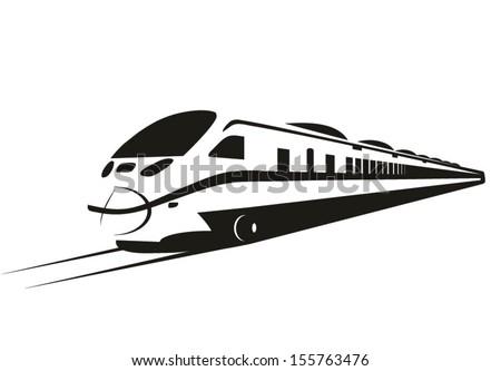 moderno · acelerar · bala · trem · rápido · suburbano - foto stock © leonido