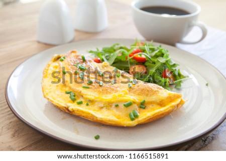 卵 · ディナー · 新鮮な · 食事 · ダイエット · 栄養 - ストックフォト © M-studio