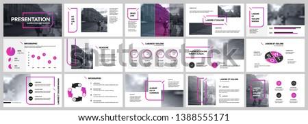 чистой · современных · бизнеса · брошюра · листовка · дизайна - Сток-фото © mischoko
