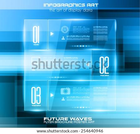 Lay-out hoog tech dekken sjablonen Stockfoto © DavidArts