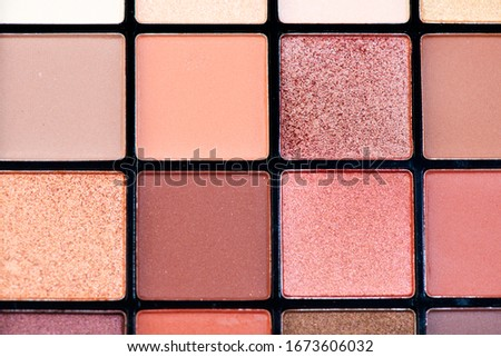 paletine · ayarlamak · dekoratif · kozmetik · boya - stok fotoğraf © tetkoren