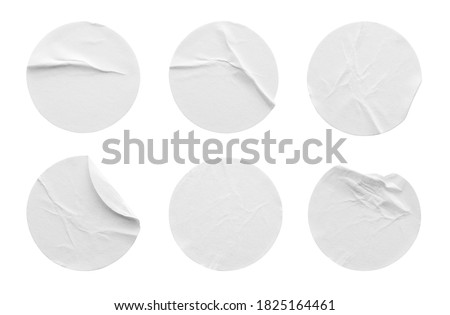 Set of empty commercial sale stickers, elements, badges and labels. Green.  stock photo © rommeo79