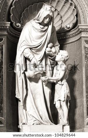 catedral · Budapest · Hungría · rey · cristianismo - foto stock © billperry