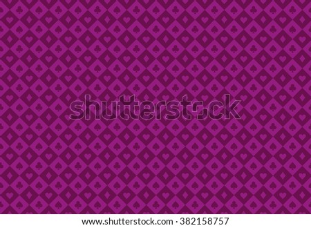 Minimalistic purple poker background with seamless texture composed from card symbols Stock photo © liliwhite