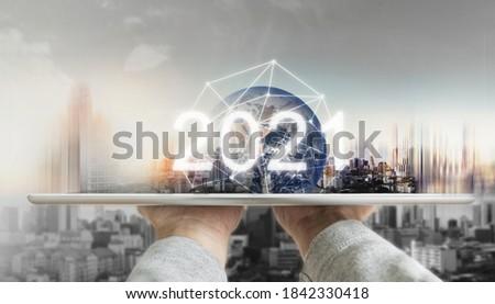 Сток-фото: глобализация · международных · связи · новых · информации