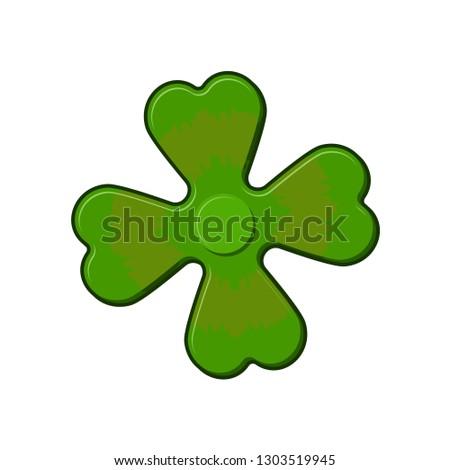 ír lóhere shamrock kéz játék Írország Stock fotó © popaukropa