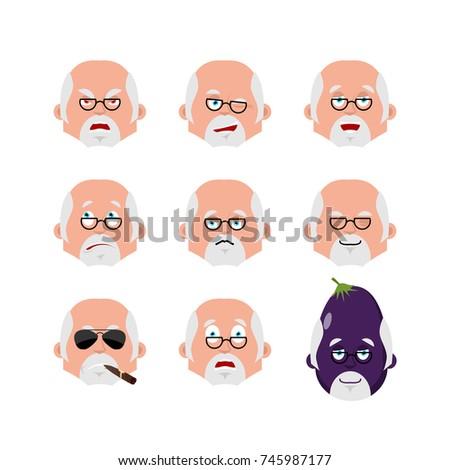 Lekarza emocji avatar lekarz szczęśliwy wektora Zdjęcia stock © popaukropa