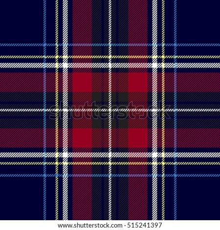 Stok fotoğraf: Diyagonal · siyah · kırmızı · vektör · İskoçya