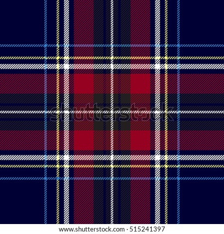 Diagonal black and red tartan vector seamless pattern background 1 Stock photo © sanjanovakovic