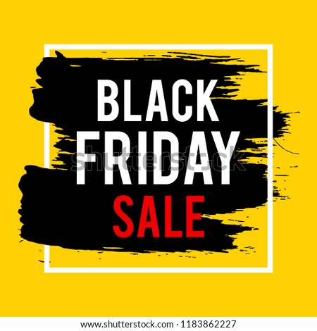 54c73f5f638 Black Friday Sale grunge sign set. Pink special offer text banner ...
