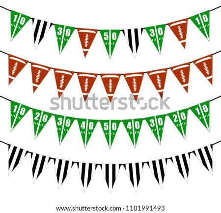 подвесной флагами американский праздников американский флаг Сток-фото © olehsvetiukha