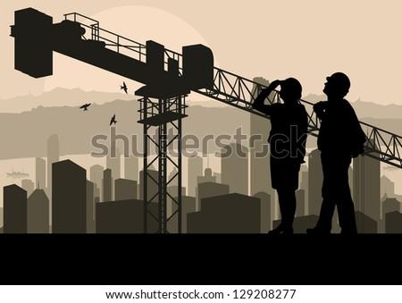 maschio · femminile · lavoratori · tecnica · progetti · parlando - foto d'archivio © feverpitch