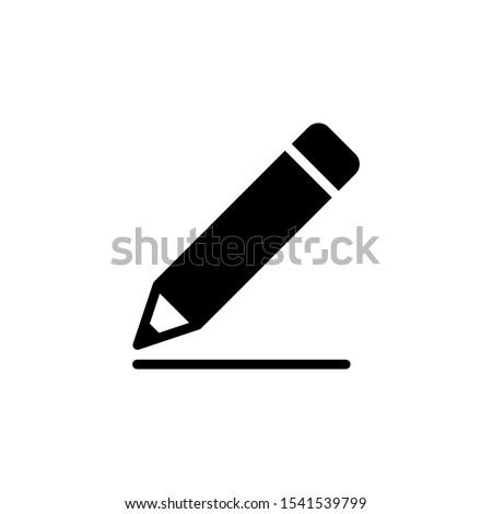 Ayarlamak yazı çizim araçları simgeler kalem Stok fotoğraf © IvanDubovik