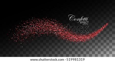Czerwony blask przezroczysty wibrujący światła Zdjęcia stock © olehsvetiukha