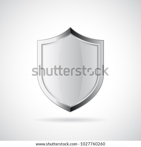 100 Protected guard shield concept. 100 safety badge icon. Privacy guarantee shield banner. Security Stock photo © kyryloff