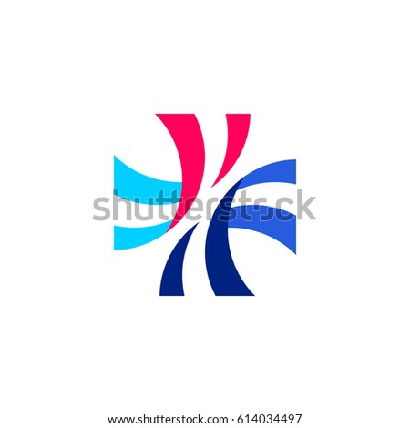 abstract · vector · logo · farmaceutisch · bedrijven - stockfoto © ussr