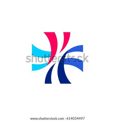 Szalagok kereszt meg orvosi gyógyszertár vektor Stock fotó © ussr