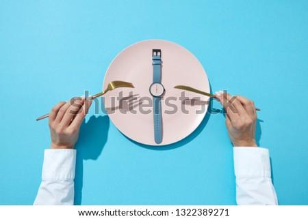 idő · egészséges · étel · óra · közelkép · fehér · piros - stock fotó © artjazz