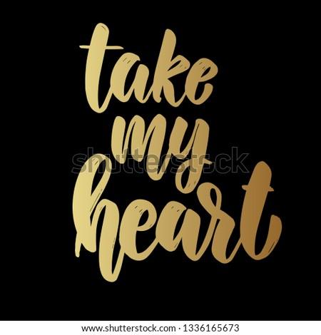 Mijn hart donkere Stockfoto © masay256