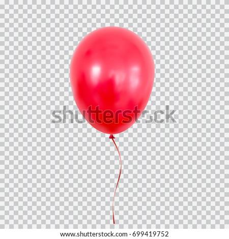 Realistisch witte Rood ballon schaduw confetti Stockfoto © olehsvetiukha