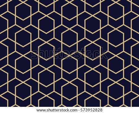 Vector sin costura geométrico a rayas azul patrón Foto stock © ExpressVectors