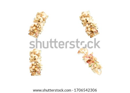 Comma Mark made from Shavings Stock photo © filipw