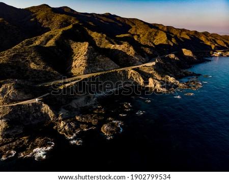 Widok z lotu ptaka andaluzja region Hiszpania morze Śródziemne morza Zdjęcia stock © Anneleven