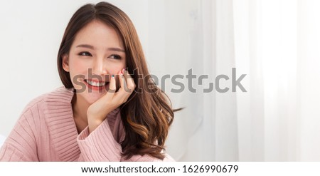 Young beautiful woman knitting at home Stock photo © Elnur