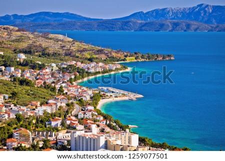 Makarska Riviera Stock photo © Harlekino