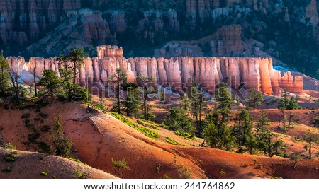 Amphitheater from Inspiration Point, Bryce Canyon National Park Stock photo © vwalakte