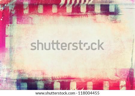 Grunge abstract collage ruimte tekst ontwerp Stockfoto © Lizard