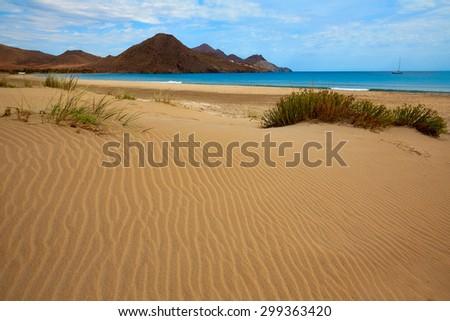 Playa de los Genoveses beach in Cabo de Gata-Nijar Natural Park, Stock photo © nito
