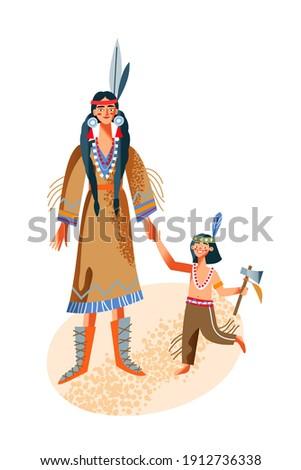 tribal · guerreiro · mulher · belo · africano · indígena - foto stock © elnur