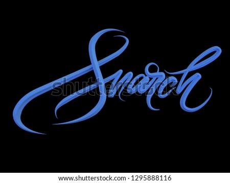 Grande dígito mulher gráfico internacional Foto stock © shawlinmohd