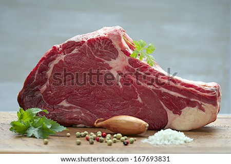 barbecue, bay, beef, board, bone, boned, bovine, butcher, cooking, cow, cuisine, delicious, dine, di stock photo © dannyburn
