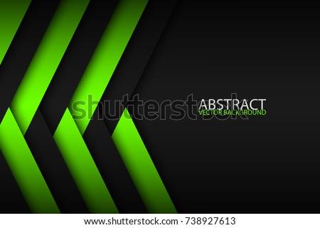 Streszczenie zielone czarny warstwy powyżej inny Zdjęcia stock © kurkalukas