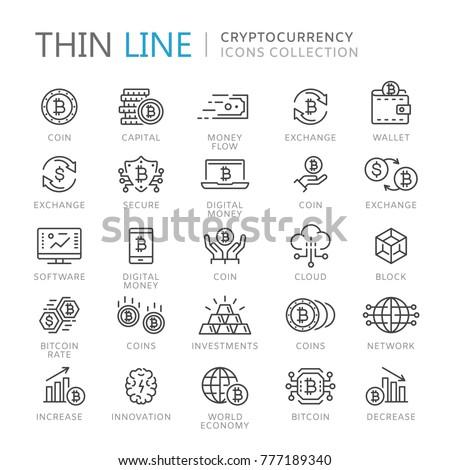 Bitcoin Cryptocurrency Icon. Stock photo © WaD