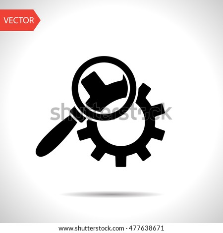 icon · versnellingen · cms · inhoud · beheer · computer - stockfoto © wad
