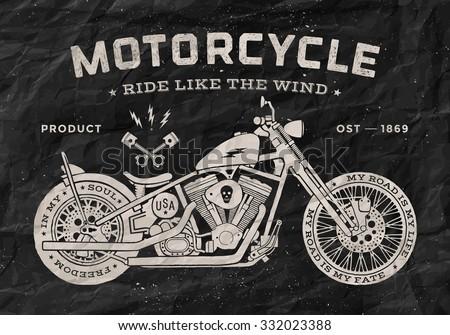 Foto stock: Vintage · raça · motocicleta · velho · escolas · estilo