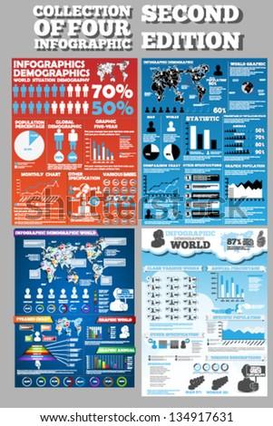 Ludzi infografiki prezentacji wykresy Zdjęcia stock © kyryloff