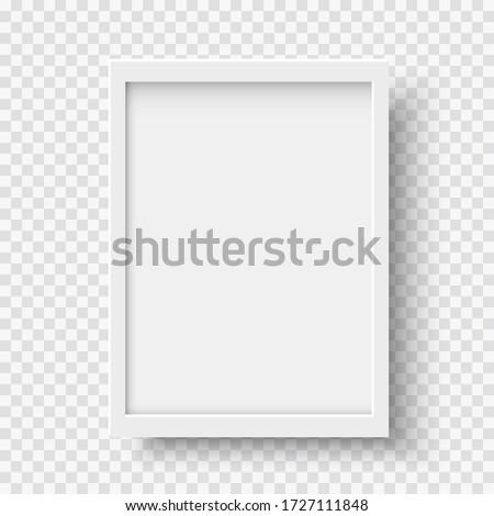 vector · vak · frame · sjabloon · geïsoleerd · witte - stockfoto © kyryloff