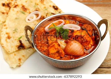 frango · comida · indiana · receita · temperos · textura · laranja - foto stock © galitskaya