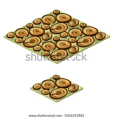 Zestaw piętrze Płytka tekstury drewna widział Zdjęcia stock © Lady-Luck